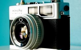 Картинка макро, фотоаппарат, объектив, minolta