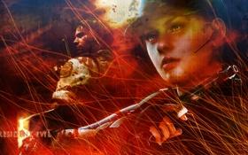 Картинка Resident Evil, Jill Valentine, Chris Redfield, Resident Evil 5, Biohazard 5
