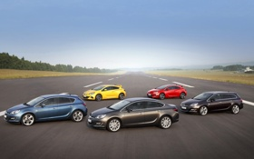 Обои Opel, астра, Astra, GTC, OPC, Sports Tourer