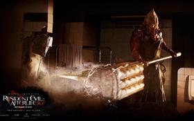 Обои фильм, топор, палач, обитель, зла, Evil, Resident