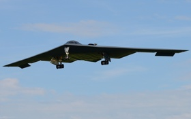 Картинка бомбардировщик, Northrop, стратегический, B-2 Spirit