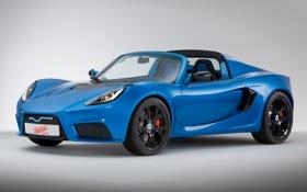 Картинка синий, автомобиль, Detroit Electric, SP:01, электрокар
