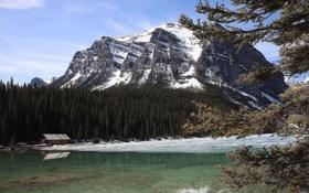 Обои Alberta, Lake Louise, Canada, Parque Nacional Banff, Columbia Britanica