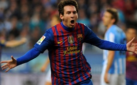 Обои Спорт, Футбол, Барселона, Football, Barcelona, Messi, Месси