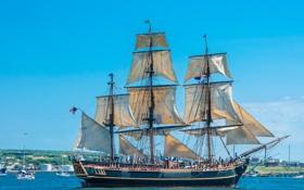 Обои фото, корабли, Канада, парусные, Halifax, Municipality, Regional
