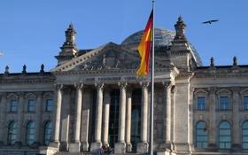 Картинка Берлин, парламент, Рейхстаг, Германия, флаг