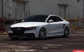 Картинка ауди, Audi A5, диски, vossen