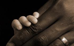 Картинка белый, черный, руки