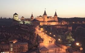 Картинка замок, крепость, Каменец-Подольский