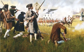 Картинка British, Americans, American Revolution, Epic bravery