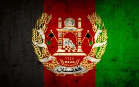 Обои свобода, флаг, афганистан