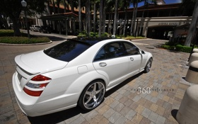 Обои Mercedes Benz, AMG, S-Class