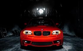 Картинка оранж, BMW 1M, MORR Wheels & iCarbon