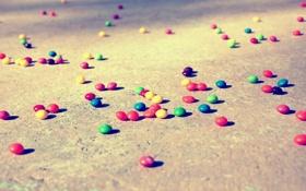 Обои асфальт, земля, настроения, конфеты, конфетки