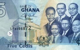 Обои people, five, Money, Ghana, Bank, Cedis