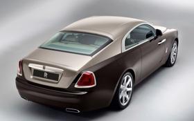 Обои машина, Rolls-Royce, задок, Wraith