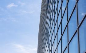 Обои небо, здание, окна