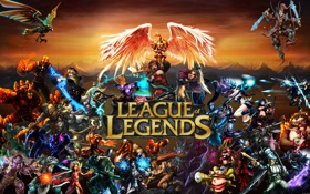 Обои герои, персонажи, League of Legends
