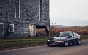 Картинка бмв, BMW, E46, stance, 325