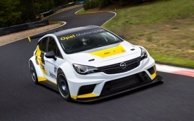Обои опель, TCR International Series, Opel, астра, Astra