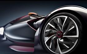 Обои дизайн, диски, фон, крылья, колёса, форма
