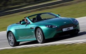 Обои Aston Martin, Roadster, скорость, астон мартин, родстер, Vantage S