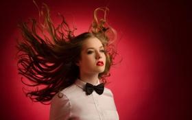 Картинка девушка, огонь, портрет, Summer Russo
