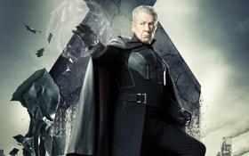 Обои Magneto, Люди Икс, older, Days of Future Past, Erik Lehnsherr, Иэн МакКеллен Ian McKellen, Дни ...