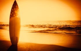 Обои песок, пляж, beach, sunset, sand