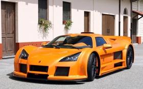 Обои Машина, Оранжевый, Машины, Orange, Gumpert, Car, Автомобиль