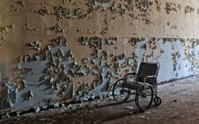 Обои стена, интерьер, коляска