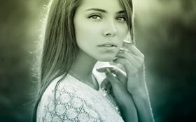 Картинка взгляд, портрет, natural light, Лера