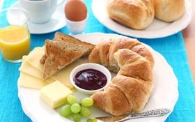 Обои вкусный завтрак, Useful, tasty Breakfast, Полезный, a Cup of tea, чашка чая
