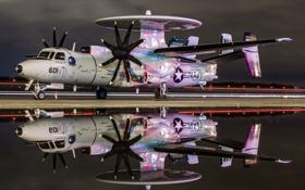 Обои авиация, самолёт, E-2C Hawkeye