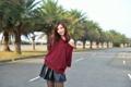 Картинка девушка, улица, Hebe Lee