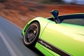 Картинка дорога, фон, скорость, колесо, дверь, класс, Lamborghini Gallardo