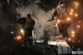 Картинка взрыв, игра, здание, бойцы, DICE, Battlefield 4