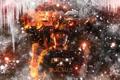 Картинка лед, огонь, кепка, DatsiK