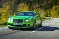 Картинка Continental, Капот, Bentley, Передок, Бентли, Фары, Машина