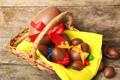 Картинка шоколад, яйца, Пасха, chocolate, Easter, eggs, decoration