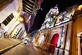 Картинка ночь, night, Colombia, Колумбия, Cartagena, Картахена