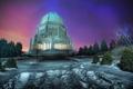 Картинка зима, свет, снег, здание, hdr, храм