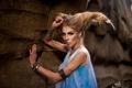 Картинка взгляд, девушка, макияж, тату, прическа, photographer, Ксения Почерней