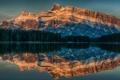 Картинка пейзаж, горы, Alberta, Canada, Anthracite