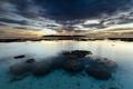 Картинка закат, океан, побережье, Maldives