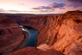Картинка природа, река, Arizona, USА, Glen Canyon, великий каньон