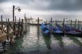 Картинка город, гондолы, Venecia