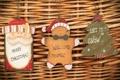 Картинка дерево, праздник, елка, новый год, дед мороз, печенька