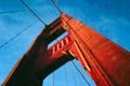 Картинка небо, арка, вид, мост