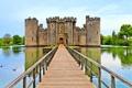 Картинка вода, мост, замок, башня, старинный, castle